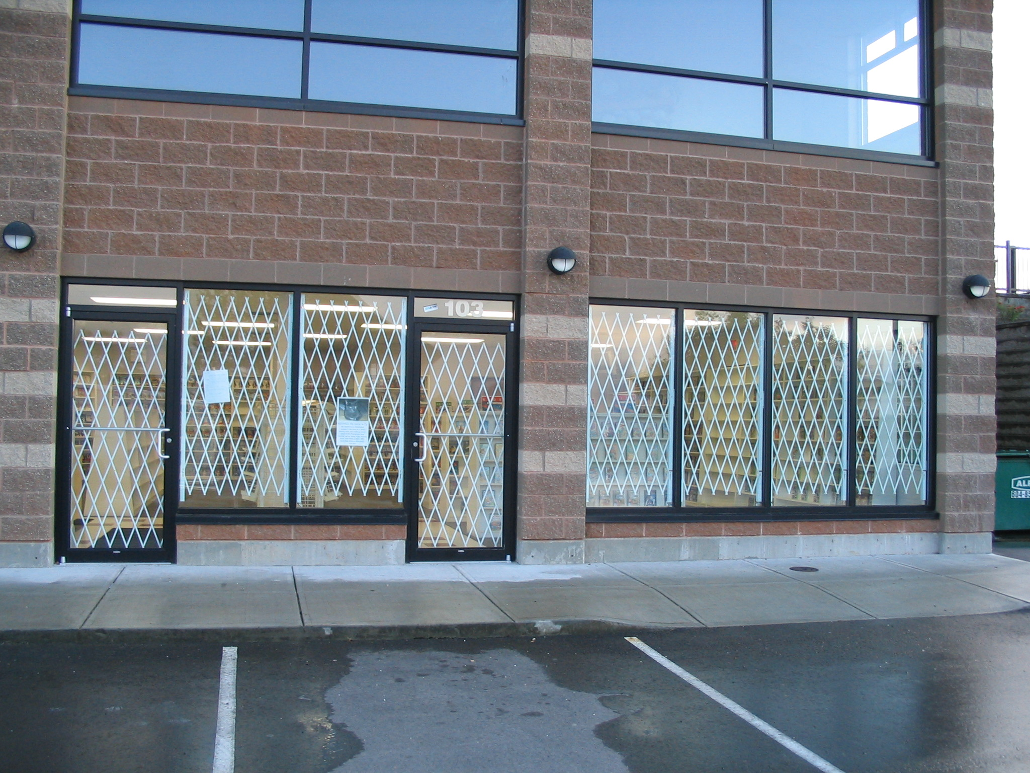 Commercial Rolling Doors & Rolling Gates